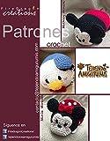 Amigurumi Tsum Tsum Set: Mickey, Minnie & Donald