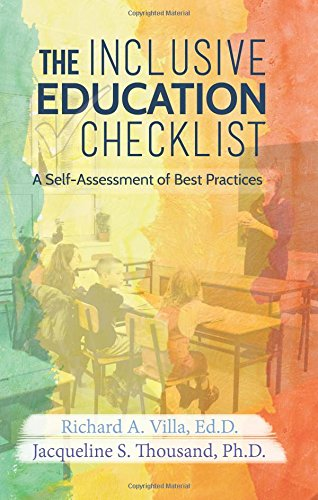 Compare Textbook Prices for The Inclusive Education Checklist: A Self-Assessment of Best Practices  ISBN 9781938539015 by Richard Villa,Jacqueline Thousand,Lisa L. Hanson