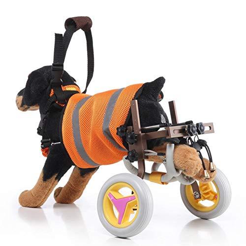 Leichter Hunderollstuhl, verstellbarer Hunderollstuhl Hunderollbarer Rollstuhl für die Rehabilitation der Hinterbeine