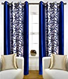 Add a touch of sophistication to your living room interiors by getting this curtains by SRK TRENDZ Made from polyester, these curtains are extremely fine in quality and can be maintained easily Ergonomic design