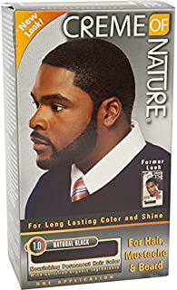 Creme of Nature Men's Haircolor, Black