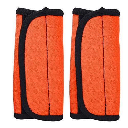 Alomejor 2PCS Kayak Paddle Grips Neopreno Antideslizante Paddle Grips Prevenir para Canoa Barco Kayak Deportes Acuáticos(Naranja)