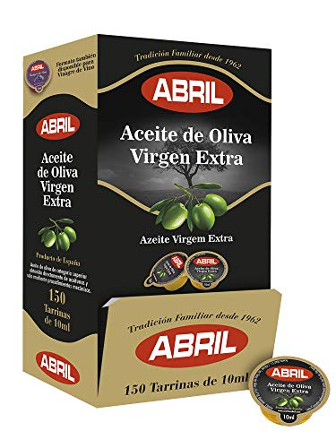 Tarrina Aceite de Oliva Virgen Extra Abril 10 ml - Caja...