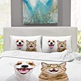 CUDEVS Portrait Cute Dog Jack Russell Terrier,Bed Sets Queen Luxury Soft Singe