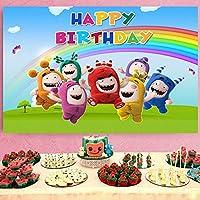 リトルモンスター漫画誕生の背景子供誕生日ベビーシャワーパーティー用品装飾背景写真背景子供の誕生日子供写真背景写真ブース小道具