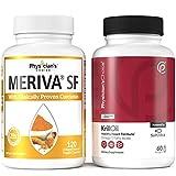 Meriva Curcumin 500 - Clinically Proven 29x Better Absorption + Antarctic Krill Oil - 1000 mg (Double Strength)