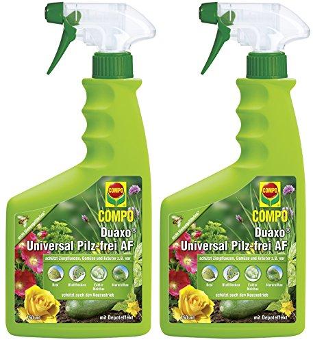 Preisvergleich Produktbild Compo Duaxo Universal Pilz-Frei AF,  Bekämpfung von Pilzkrankheiten an Zierpflanzen,  Gemüse und Kräutern,  Anwendungsfertig,  1500 ml