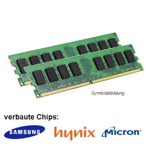 Samsung 4GB  2X 2GB  800MHz  PC2 Bild