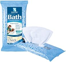 Essential Comfort Bath Cleansing Washcloths - Case (60 Packages)