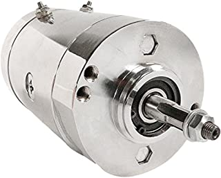 DB Electrical GHD0003-C New Chrome Generator For Harley Davidson Fl Series, Sportster Roadster, Fl 1965-1969 Pre 1977, Xlch 1975-1979, Xlh 1975-1984, Others 15410C