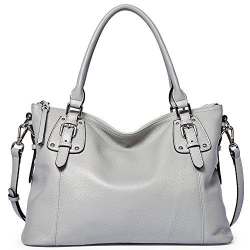 BOSTANTEN Women's Leather Handbags Tote Shoulder Purse Top-handle Crossbody Bag