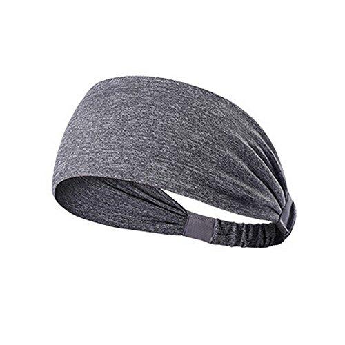Watopi Frauen Baumwolle geknotet Turban Head Warp Haarband breites elastisches...