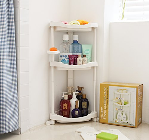 Tenby Living Shower Caddy - Shower Organizer Caddie with Movab.