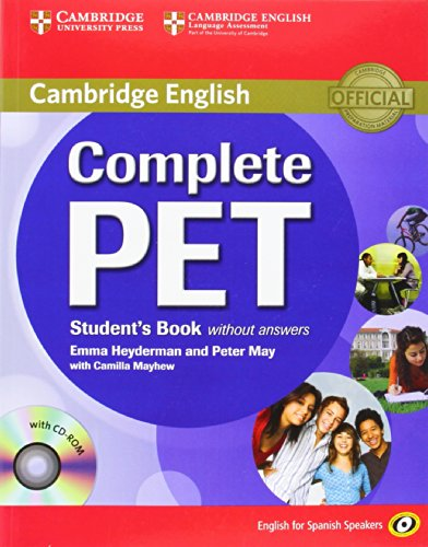 Complete PET for Spanish Speakers Student's Book without Ans