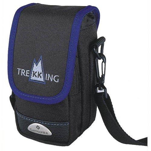 Samsonite trekking 10035mm/APS custodia per fotocamera con tasca frontale, colore: Nero/Blu