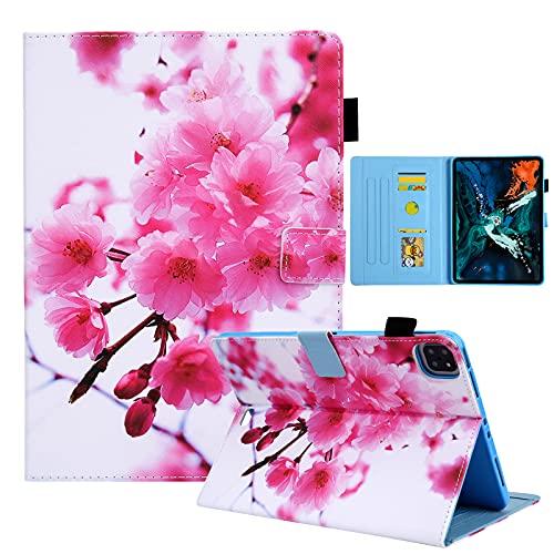JCTek Funda para tablet compatible con iPad Air 4ª Generation10.9 pulgadas – 2020 liberación, funda de piel sintética con función atril (múltiples ángulos de visión)