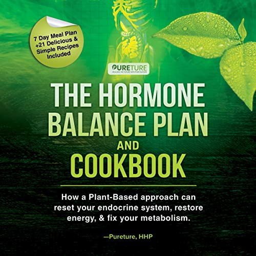 Hormone Balance Plan and Cookbook cover art