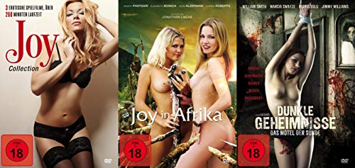 Sexy Classic - 80er Jahre - Joy Collection Teil 1 2 3 / in Afrika + Dunkle Geheimnisse - Das Motel der Sünde DVD Limited Edition