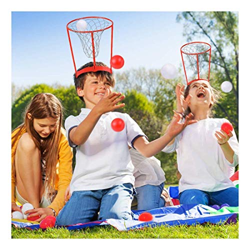 JAPSI Head's Up! Catch The Ball Game : Party Game ; Office Game ; Activity Filled Game for Kids ; 5 + Years