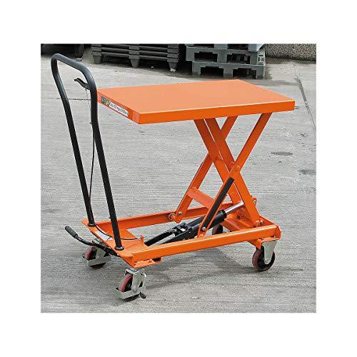Certeo Hubtisch | Tragfähigkeit 150 kg | Hubtisch Hubwagen Hubplattformwagen Hubtischwagen Plattformwagen