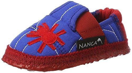 Nanga Jungen Hausschuh Spinne Mittelblau 24
