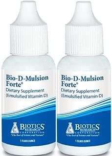 Biotics Research Bio-d-mulsion Forte 1oz (2 Bottles)
