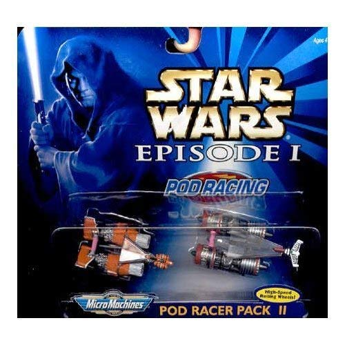 Star Wars Episode 1 – Micro Machines 66532 – Pod Racer Pack II