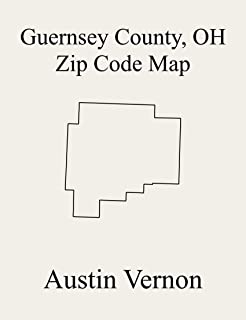 Guernsey County, Ohio Zip Code Map: Includes Londonderry, Adams, Cambridge, Center, Jackson, Knox, Liberty, Millwood, Oxford, Richland, Spencer, Valley, Westland, Wheeling, Wills, Jefferson, Madison,