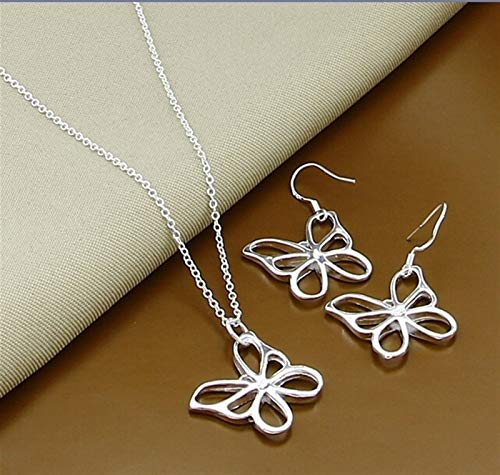 Joyas de plata de las señoras conjuntos de la bola redonda de la moda simple conjuntos de pendientes para la joyería de la mujer *3* (Gem Color : 15)