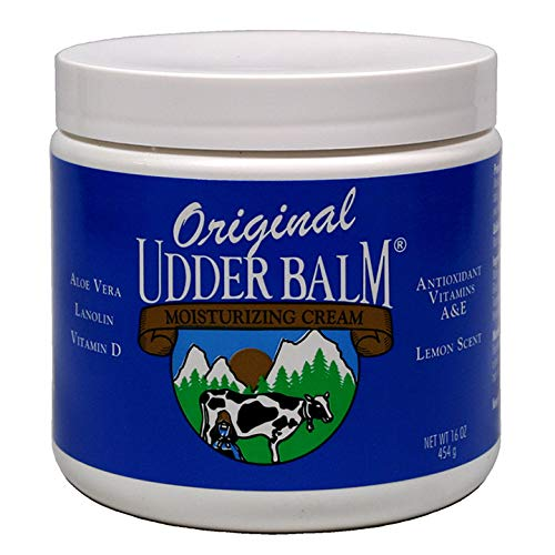 Original Udder Balm Moisturizing Cream 16oz Jar. It