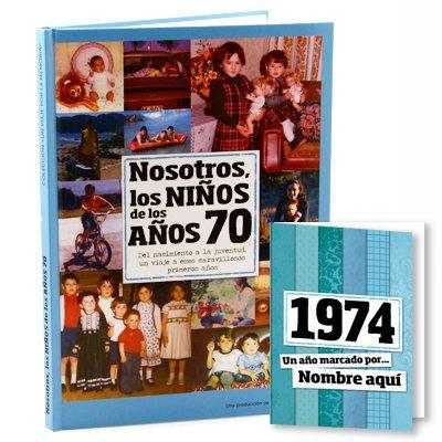 Calledelregalo Regalo Personalizado: Libro década