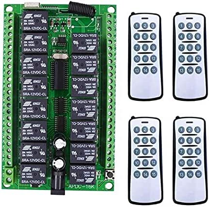 Davitu Remote Controls - Spasm price Popular popular Smart DC12V home Controller Radio 15CH