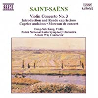 Violin Concerto 3 by SAINT-SAENS (1994-10-04)