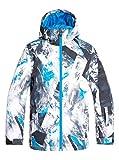 Quiksilver EQBTJ03098 Veste de Ski/Snowboard Garçon, Cloisonne Random Pics, FR : M (Taille Fabricant : 10/M)