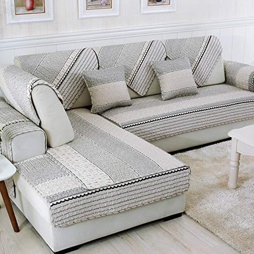 Suuki sofá Que Cubre de 1/2/3/4 plazas,Funda de sofá de 2/3/4 plazas para Sala de Estar,Fundas de sofá de Esquina,Funda de sofá Universal,Protector de sofá de 4 Estaciones-si_Los 70 * 150cm