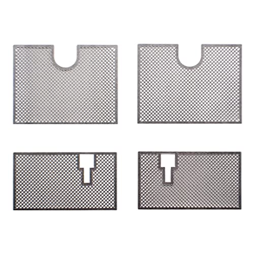 Colcolo Decoration Metal Protective Net Armored,Metal Guard Plate for 1/16 Heng Long German 3818,RC Tank Upgrade Parts