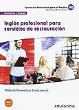 MF1051 (Transversal) Inglés profesional para servicios de restauración. Familia Profesional Hostelería y Turismo