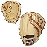 Rawlings Pro Preferred Baseball Glove, Laced 2-Piece Solid Web, 11.75 inch, Right Hand Throw