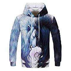 hoodies Adjustable Drawstring & Big Pockets Design: Double fabric hoody with draw cord to lock the heat around neck & head; Big kangaroo pocket to warm your hand and convenient to store essentials thing hoodies 100% No Fading & Quick Drying: Polyeste...