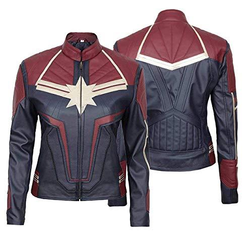e Genius Disfraz de superhroe Cosplay de cuero de los Vengadores Endgame Disfraces de la chaqueta-mujeres Cosplay chaqueta de cuero de las mujeres chaqueta de motociclista chaquetas