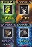 Animorphs Hologram 3d Book Set (Books 1-4) the Invasion, the Visitor, the Encounter, the Message
