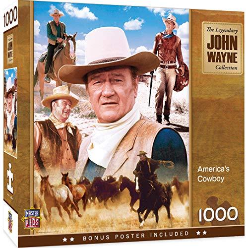 MasterPieces John Wayne America's wboy    de 1000 Piezas