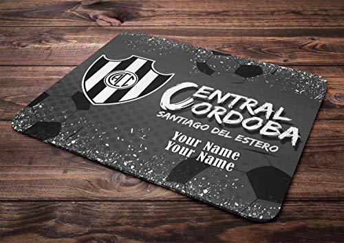 WH-CLA Mouse Pad Argentina Futbol Liga Soccer League Central Córdoba Teclado Duradero Alfombrillas De Ratón Personalizadas Alfombrilla De Ratón De Oficina Impresa Personalizada Computado
