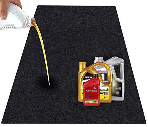 JOMMIE CHEN Garage Floor Mat, 36x60 Inches Absorbent Oil Mat Waterproof Garage Mat for Under Car, Washable/Reusable/Durable/Absorbent Rubber Mat Garage