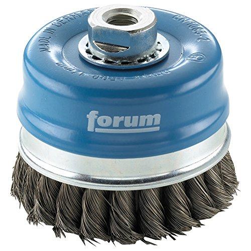 Forum M14 brosse boisseau métallique 100 x 0,8 mm, 4317784861670 nouée