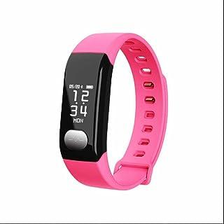 Pulsometro pulsera deportiva inteligente,Pulso Cardíaco Fitness Tracker con Podómetro,Sleep Monitor,Soporta Llamada Mensaje,Contador de caloría,Monitor Cardio para iOS Teléfono Android de Samsung
