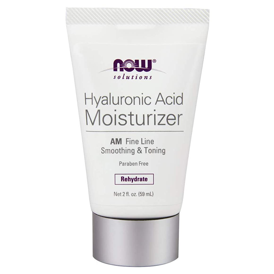 支援通信する口径海外直送品 Now Foods Hyaluronic Acid Moisturizer, 2 OZ TUBE