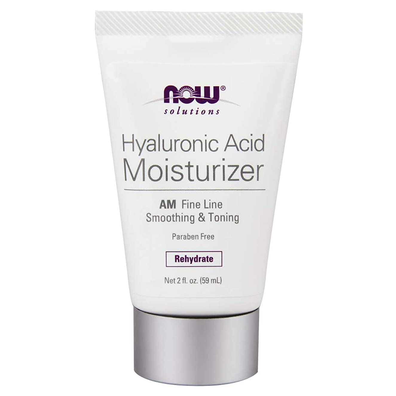 ラッチ思慮のない米国海外直送品 Now Foods Hyaluronic Acid Moisturizer, 2 OZ TUBE