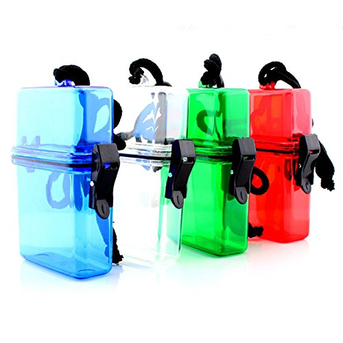 seguryy ABS extérieur étanche Plastique Réservoir à eau Touche l'argent Boîte de rangement étui support