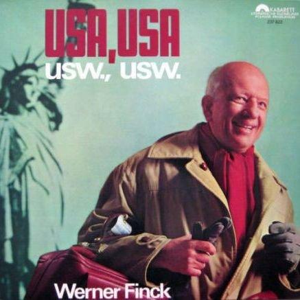 Werner Finck - USA, USA - USW., USW. - Polydor - 237 822
